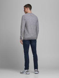 jack-and-jones-neule-jjeaaron-knit-crew-neck-vaaleanharmaa-2