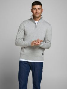 jack-and-jones-neule-joreli-knit-high-neck-zip-grafiitti-1