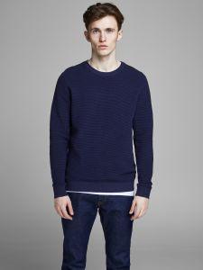 jack-and-jones-neulepusero-eliam-knit-crew-tummansininen-1