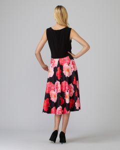 joseph-ribkoff-naisten-mekko-punainen-kuosi-2
