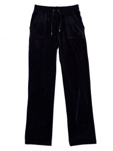 juicy-couture-naisten-housut-del-ray-pocket-classic-pant-musta-1