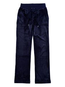 juicy-couture-naisten-housut-del-ray-pocket-classic-pant-tummansininen-2