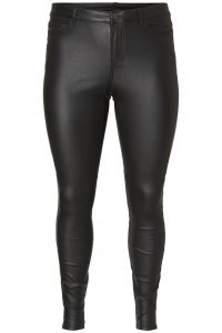 junarose-naisten-housut-four-rw-ss-coated-pants-noos-musta-1