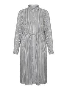 junarose-naisten-mekko-adya-ls-midi-dress-raidallinen-valkoinen-1