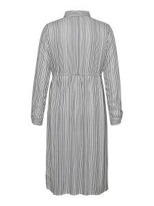 junarose-naisten-mekko-adya-ls-midi-dress-raidallinen-valkoinen-2