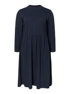 junarose-naisten-mekko-ewalisa-ls-midi-dress-tummansininen-1
