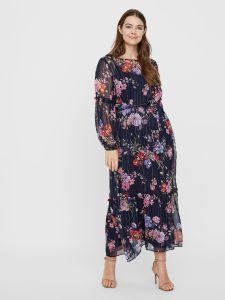junarose-naisten-mekko-fie-ls-maxi-dress-sininen-kuosi-1