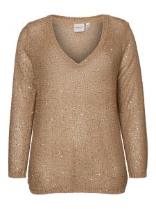 junarose-naisten-neule-pilou-ls-knit-pullover-vaalea-beige-1