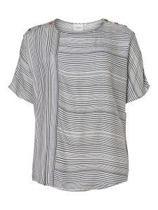 junarose-naisten-pusero-adya-2-4-sleeve-raidallinen-valkoinen-1