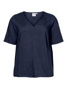 junarose-naisten-pusero-maika-2-4-sleeve-tummansininen-1
