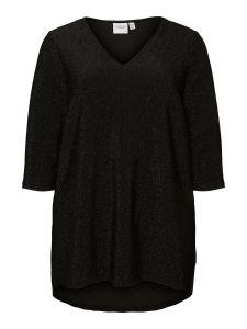 junarose-naisten-t-paita-sakina-blouse-musta-kuosi-1