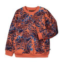 kaiko-lasten-collegepaita-relaxed-sweatshirt-punainen-kuosi-2