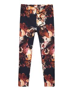 kaiko-lasten-leggingsit-leggings-cobalt-rose-punainen-kuosi-2