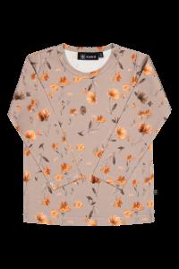 kaiko-lasten-paita-print-t-shirt-ls-poppy-field-beige-kuosi-1
