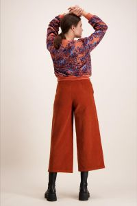 kaiko-naisten-collegepaita-chunky-sweatshirt-oranssi-kuosi-2