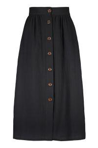 kaiko-naisten-hame-button-skirt-musta-1