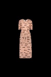 kaiko-naisten-mekko-belted-midi-dress-vaaleanpunainen-kuosi-2