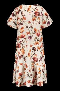 kaiko-naisten-mekko-frill-button-dress-ss-monivarinen-kuosi-2