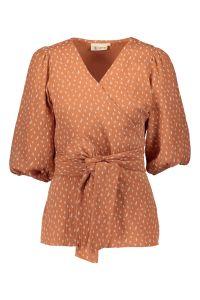 kaiko-naisten-t-paita-wrap-blouse-oranssi-kuosi-1
