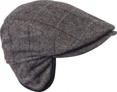 kn-collection-miesten-hattu-daniel-harmaa-kuosi-1