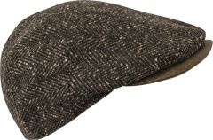 kn-collection-miesten-hattu-daniel-herringbone-ruskea-kuosi-1