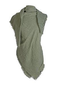 kn-collection-naisten-huivi-lilian-scarf-tummanvihrea-1