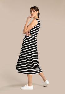 kuusama-naisten-mekko-julia-dress-120cm-raidallinen-musta-2