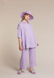 kuusama-naisten-pellavapaita-linne-loose-shirt-liila-1
