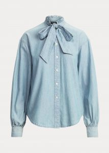 lauren-ralph-lauren-naisten-paita-fraedyn-long-sleeve-shirt-vaaleansininen-1