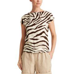 lauren-ralph-lauren-naisten-t-paita-grieta-sl-t-shirt-ruskea-kuosi-1
