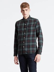 levi-s-miesten-kauluspaita-suset-1-pocket-shirt-vihrea-ruutu-1