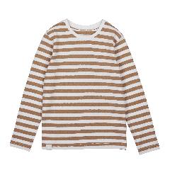 makia-kids-lasten-paita-verkstad-long-sleeve-top-raidallinen-ruskea-1