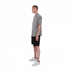 makia-miesten-kauluspaita-cliff-shirt-mustavalkoinen-2
