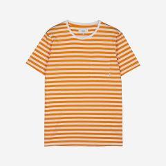 makia-miesten-t-paita-verkstad-t-shirt-raidallinen-keltainen-1