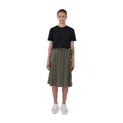 makia-naisten-hame-edel-skirt-armeijanvihrea-2