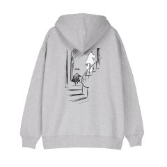 makia-naisten-huppari-ninny-hooded-sweatshirt-vaaleanharmaa-2
