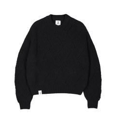 makia-naisten-neulepaita-shell-knit-musta-1