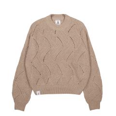 makia-naisten-neulepaita-shell-knit-vaalea-beige-1