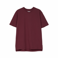 makia-naisten-t-paita-line-t-shirt-viininpunainen-1
