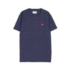 makia-t-paita-trek-t-shirt-raidallinen-sininen-1