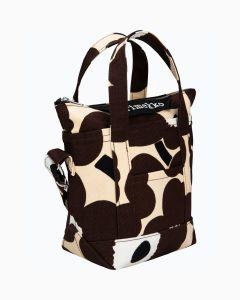 marimekko-naisten-laukku-milli-matkuri-pieni-unikko-ii-laukku-ruskea-kuosi-1