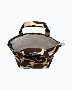 marimekko-naisten-laukku-milli-matkuri-pieni-unikko-ii-laukku-ruskea-kuosi-2
