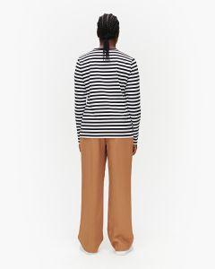 marimekko-naisten-paita-logo-mari-paita-ls-raidallinen-ruskea-2