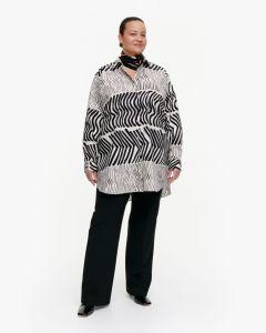 marimekko-naisten-paita-norkko-silkkikuikka-paita-mustavalkoinen-1