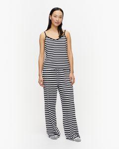marimekko-naisten-pyjamatoppi-kuulea-202-raidallinen-musta-1