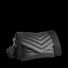 markberg-naisten-nahkalaukku-susana-puffer-crossbody-bag-musta-2