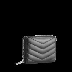 markberg-naisten-pufferlompakko-selma-wallet-musta-2