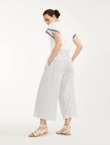 max-mara-weekend-naisten-housut-nigra-culottes-raidallinen-sininen-2