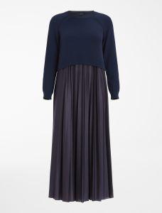 max-mara-weekend-naisten-mekko-3aidone-dress-ls-tummansininen-1