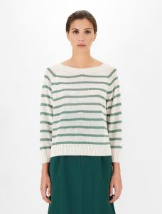 max-mara-weekend-naisten-neule-turku-knit-raidallinen-vihrea-1